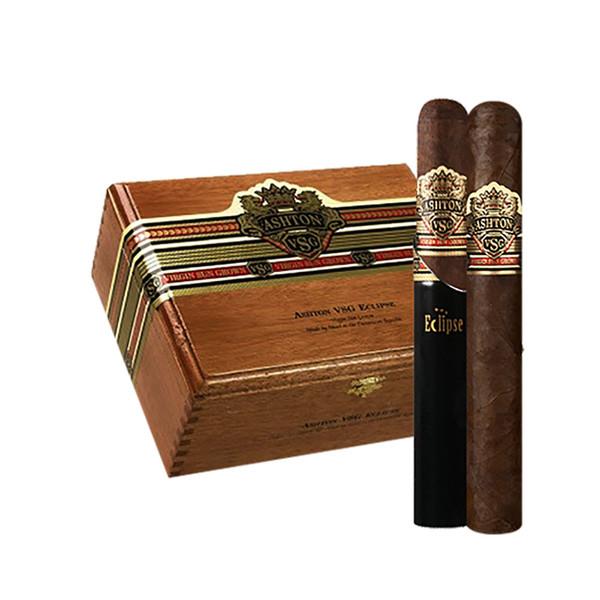 Ashton VSG Eclipse Tube Cigars - Natural Box of 24