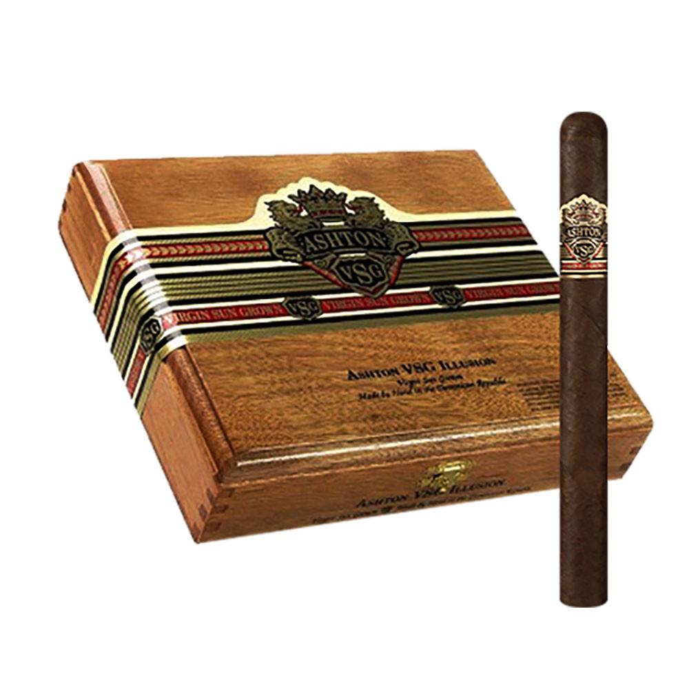 Ashton VSG Illusion Cigars - Natural Box of 24