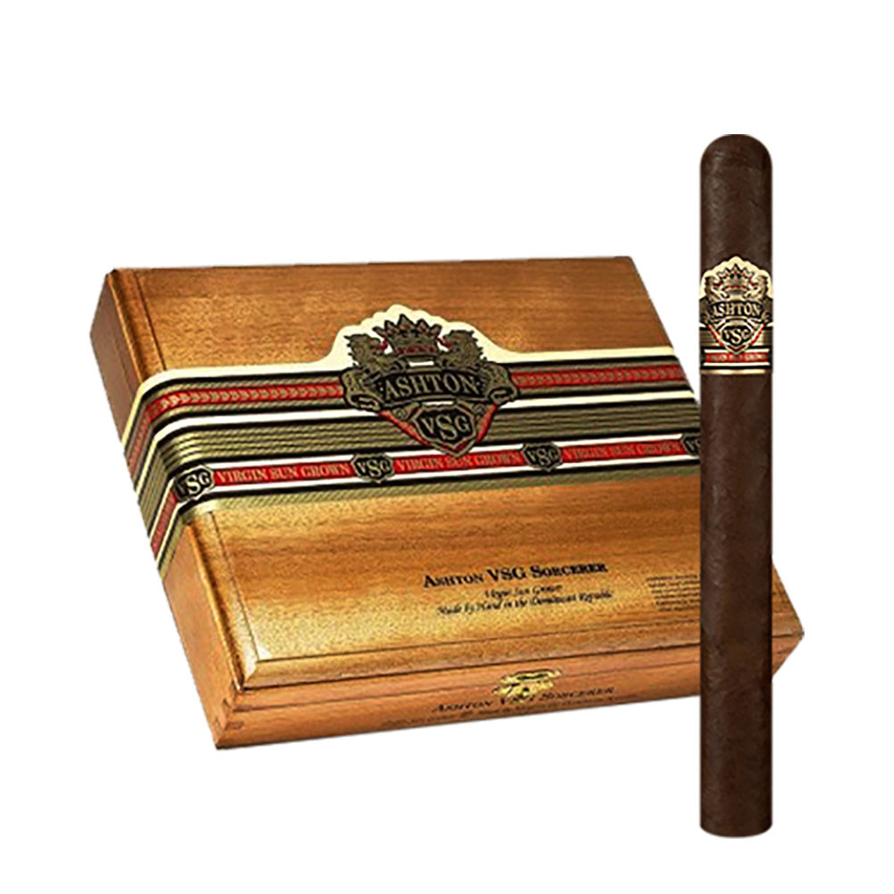 Ashton VSG Sorcerer Cigars - Natural Box of 24
