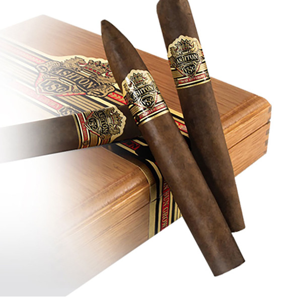 Ashton VSG Tres Mystique Cigars - Natural Box of 24