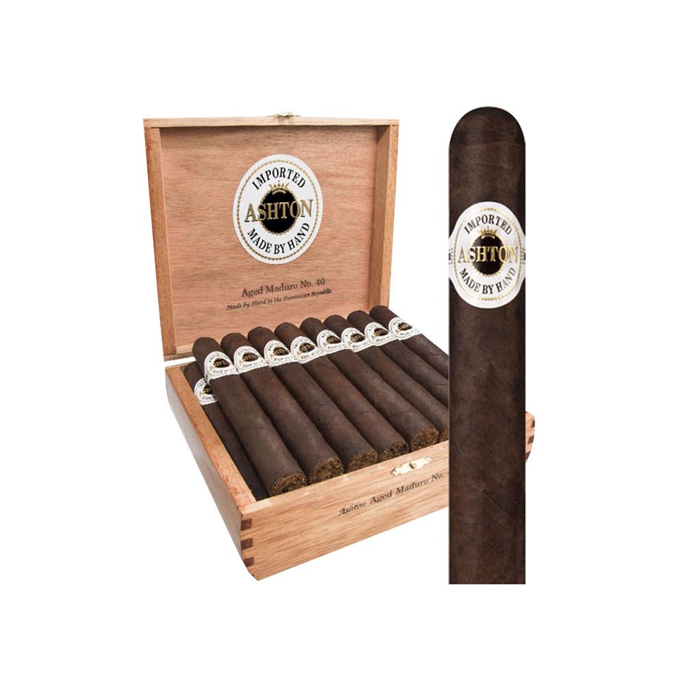 Ashton Aged Maduro #20 Cigars - Maduro Box of 25