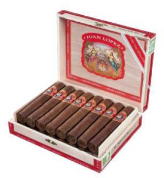Shop Now Juan Lopez Seleccion No. 4 Cigars - Natural Box of 16 --> Singles at $97.99, 5 Packs at $30.99, Boxes at $97.99