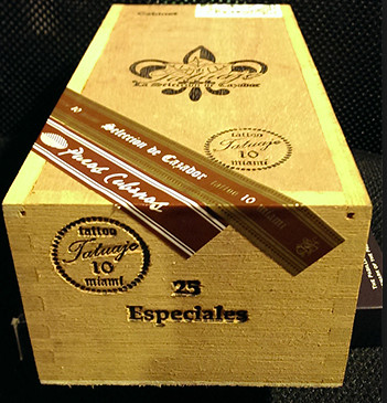 Shop Now Tatuaje Miami Especiales Cigars - Natural Box of 25 --> Singles at $10.00, 5 Packs at $43.70, Boxes at $211.6