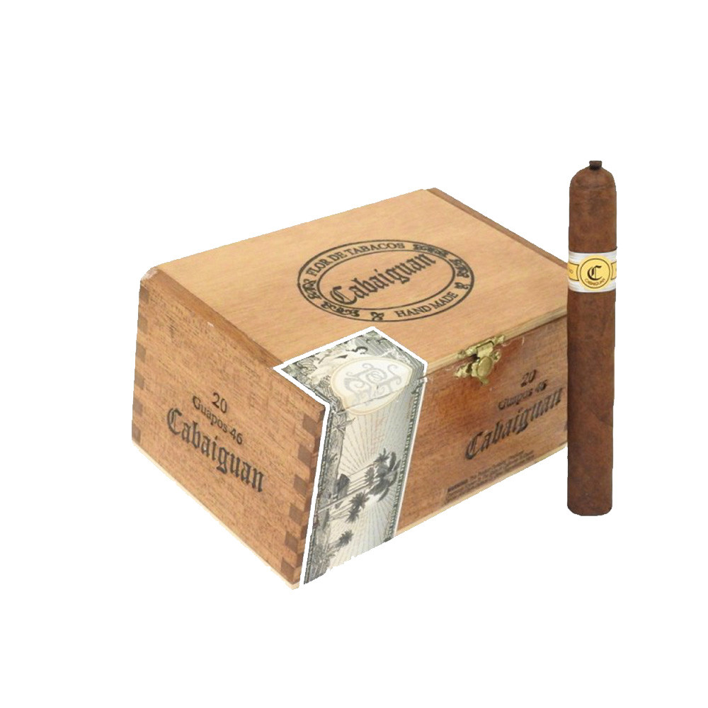 Cabaiguan Guapos Junior Petite Corona Cigars - Natural Box of 20