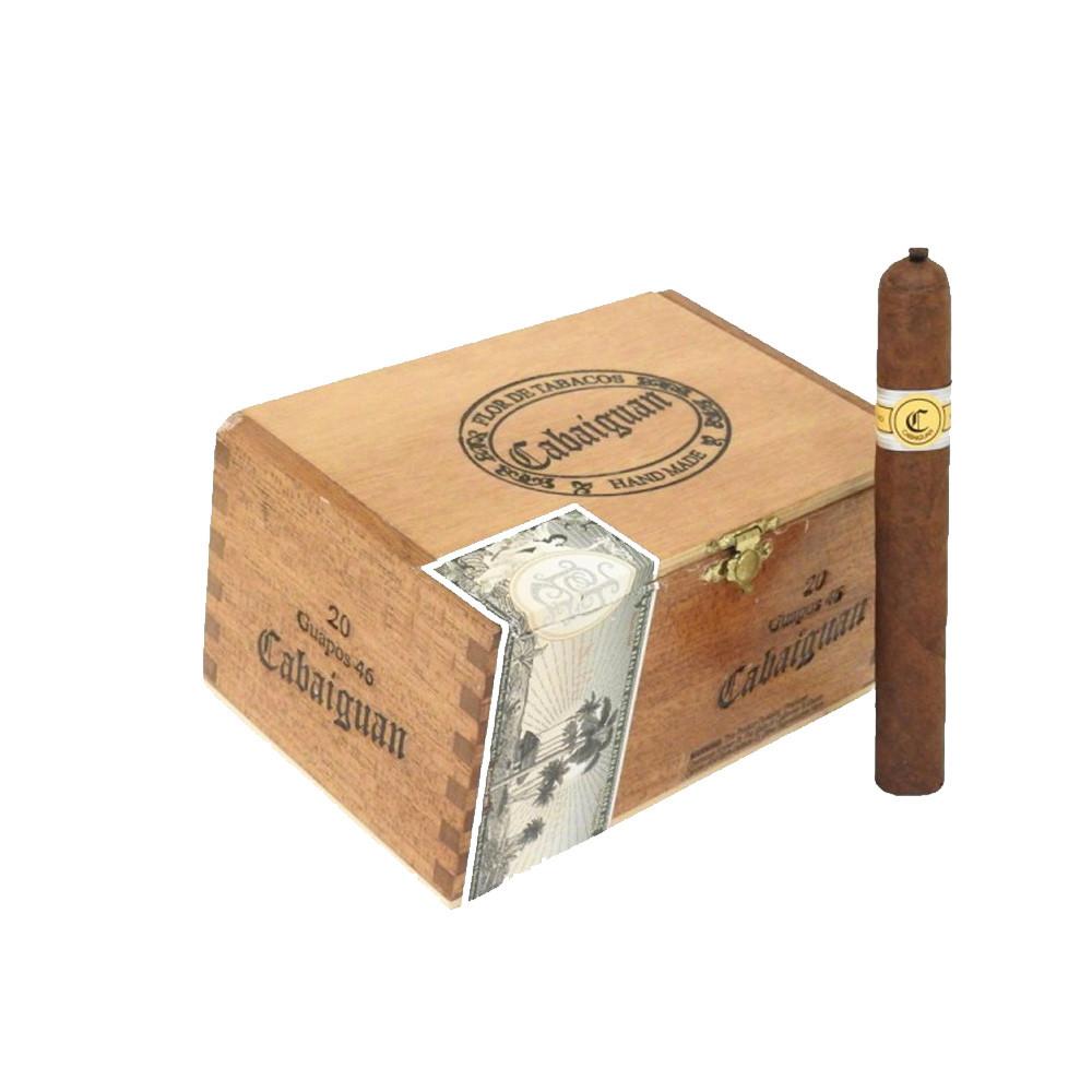 Cabaiguan Guapos RX Robusto Extra Cigars - Natural Box of 20