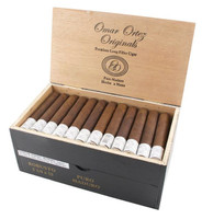 Shop Now Omar Ortez Originals Robusto Cigars - Natural Box of 60 --> Singles at $3.70, 5 Packs at $16.28, Boxes at $177.6