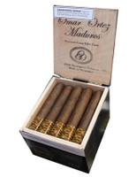 Shop Now Omar Ortez Maduro Robusto Grande Cigars - Maduro Box of 20 --> Singles at $4.20, 5 Packs at $18.48, Boxes at $67.2