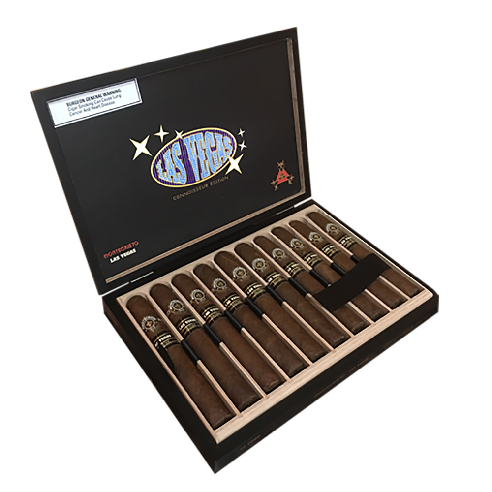 Montecristo Connoisseur Edition La Vegas Toro Cigars - Natural Box of 10