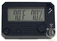 HygroSet Adjustable Digital Hygrometer Square