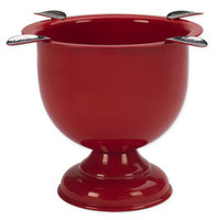 Stinky Cigar Tall Ashtray - Fire Engine Red