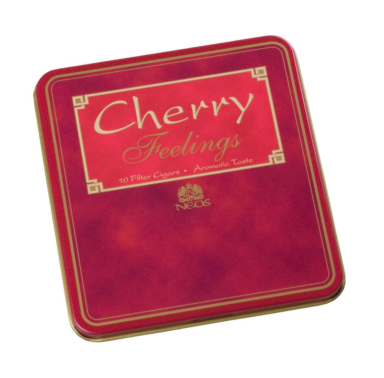 Neos Feelings Cherry Cigarillos 10 of 10 - Natural Pack of 100