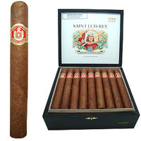 Shop Now Saint Luis Rey Toro Cigars - Natural Box of 25 --> Singles at $5.88, 5 Packs at $23.52, Boxes at $80.85