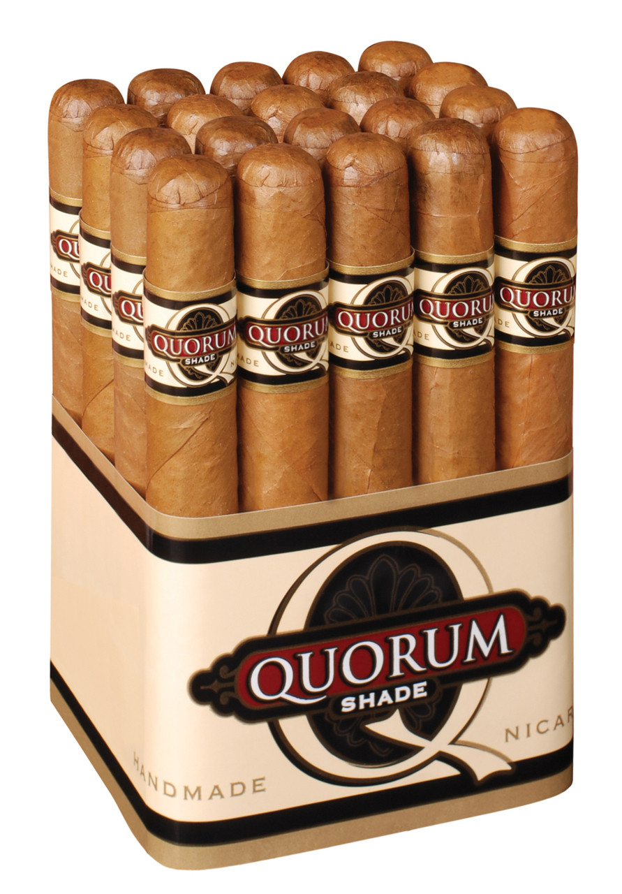 Quorum Shade Corona Cigars - Connecticut Bundle of 20
