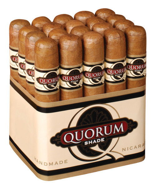 Quorum Shade Robusto Cigars - Connecticut Bundle of 20