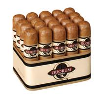 Quorum Shade Short Robusto Cigars - Connecticut Bundle of 20