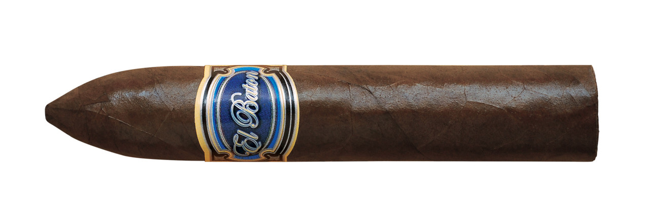 Shop Now El Baton Belicoso Cigars - Natural Box of 25 --> Singles at $6.40, 5 Packs at $28.80, Boxes at $144