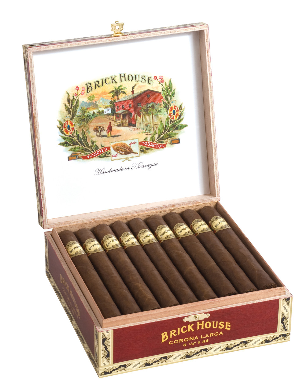 Brick House Corona Larga Cigars - Natural Box of 25