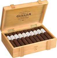 Shop Now Gurkha Cellar Reserve Solaro Cigars - Criollo Box of 20 --> Singles at $10.06, 5 Packs at $48.99, Boxes at $181.99