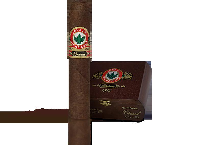 Shop Now Joya de Nicaraguan Antano 1970 Belicoso Cigars - Criollo Box of 20 --> Singles at $9.38, 5 Packs at $45.99, Boxes at $138.99