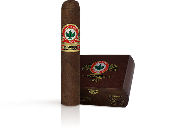 Shop Now Joya de Nicaraguan Antano 1970 Lancero Cigars - Criollo Box of 20 --> Singles at $8.24, 5 Packs at $39.99, Boxes at $121.99