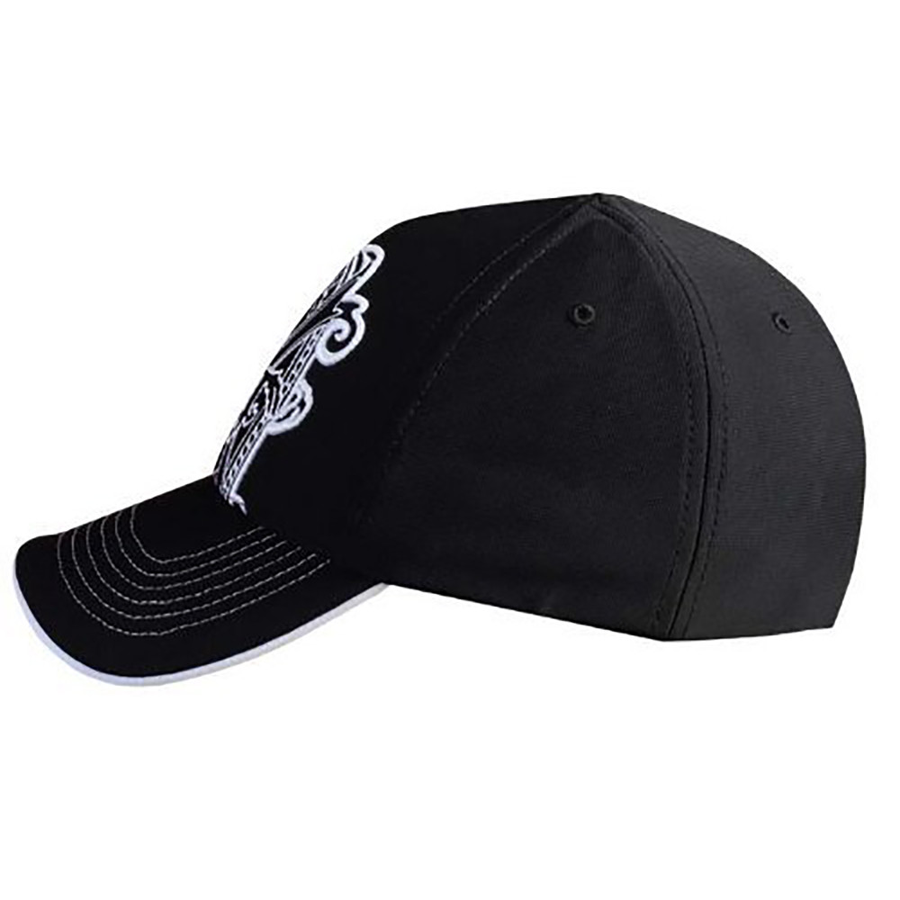 Arturo Fuente Opus X Logo Baseball Hat - Black and White Side