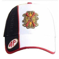 Fuente Fuente Opus X White FFOX Logo Baseball Cap - Black Side Panel and Tag
