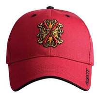 Arturo Fuente Opus X Logo Baseball Hat - Solid Red