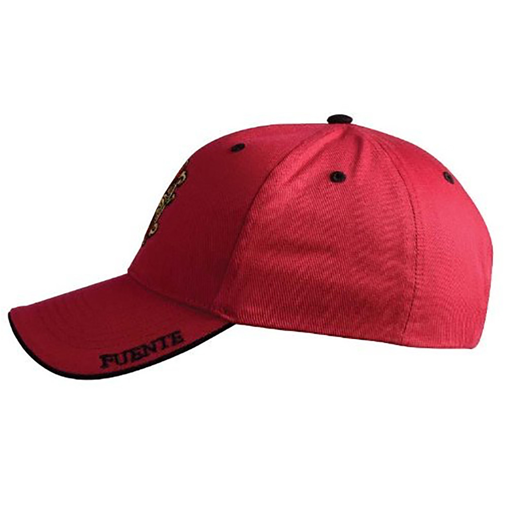 Arturo Fuente Opus X Logo Baseball Hat - Solid Red SIDE