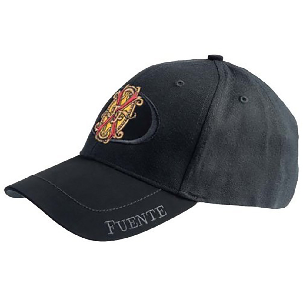 Arturo Fuente Opus X Logo Baseball Hat - Solid Black SIDE