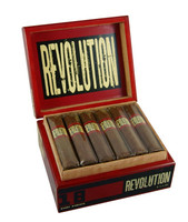 Shop Now Te Amo Revolution Robusto Cigars - Box of 18 --> Singles at $5.25, 5 Packs at $25.99, Boxes at $76.95