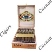 Sosa Classic Governor Cigars - Natural Box of 12