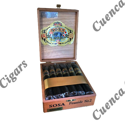Sosa Classic Piramide Cigars - Maduro Box of 12