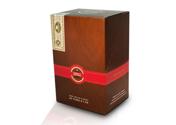 Shop Now Roberto P Duran Baracoa Robusto Box Press Cigars - Habano Box of 20 --> Singles at $3.2 , 5 Packs at $15.50 , Boxes at $58.50