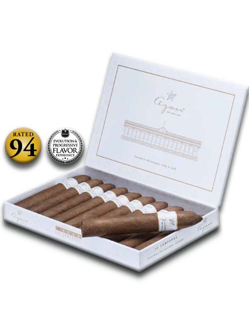 Shop Now Azan White Premium Line Toro de Luxe Cigars - Box of 10 --> Singles at $9 , 5 Packs at $42.50 , Boxes at $81.50