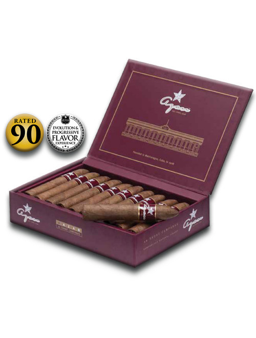 Shop Now Azan Burgundy Line Robusto Cigars - Natural Box of 20 --> Singles at $4 , 5 Packs at $19.50 , Boxes at $72.50