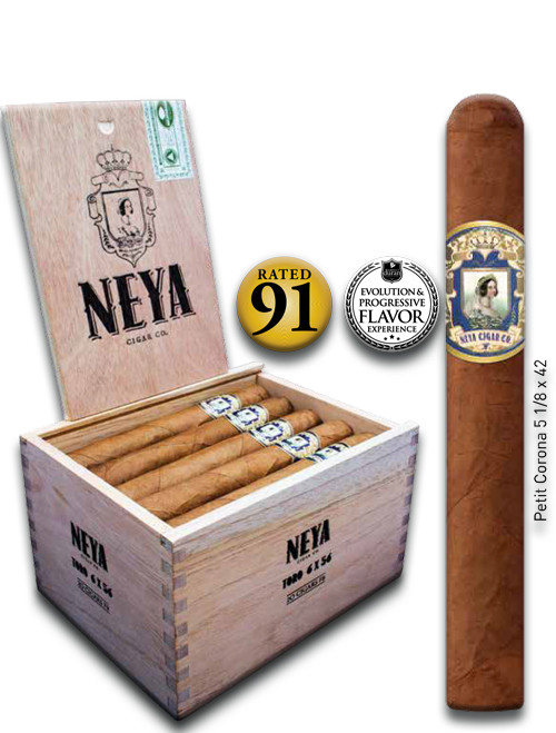 Shop Now Neya Classic Line Petit Corona Cigars - Natural Box of 20 --> Singles at $4 , 5 Packs at $19.50 , Boxes at $72.50