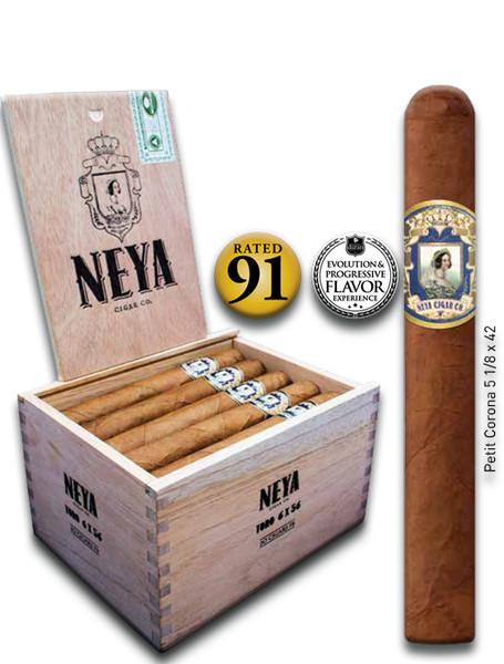 Shop Now Neya Classic Line Petit Corona Cigars - Natural Box of 20 --> Singles at $4 , 5 Packs at $19.50 , Boxes at $72.50