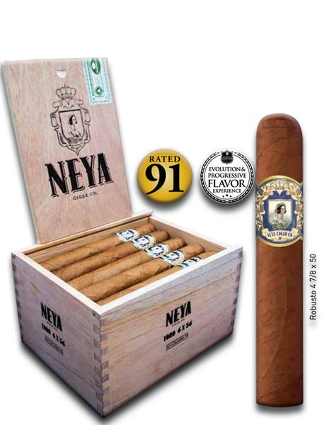Shop Now Neya Classic Line Robusto Cigars - Natural Box of 20 --> Singles at $5 , 5 Packs at $24.50 , Boxes at $90.50