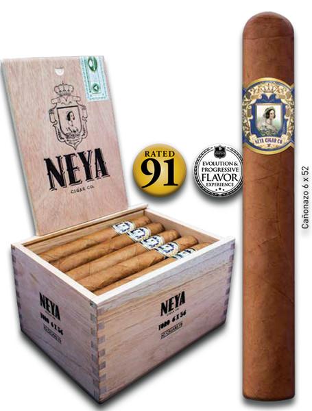 Shop Now Neya Classic Line Canonazo Cigars - Natural Box of 20 --> Singles at $6 , 5 Packs at $28.50 , Boxes at $108.50