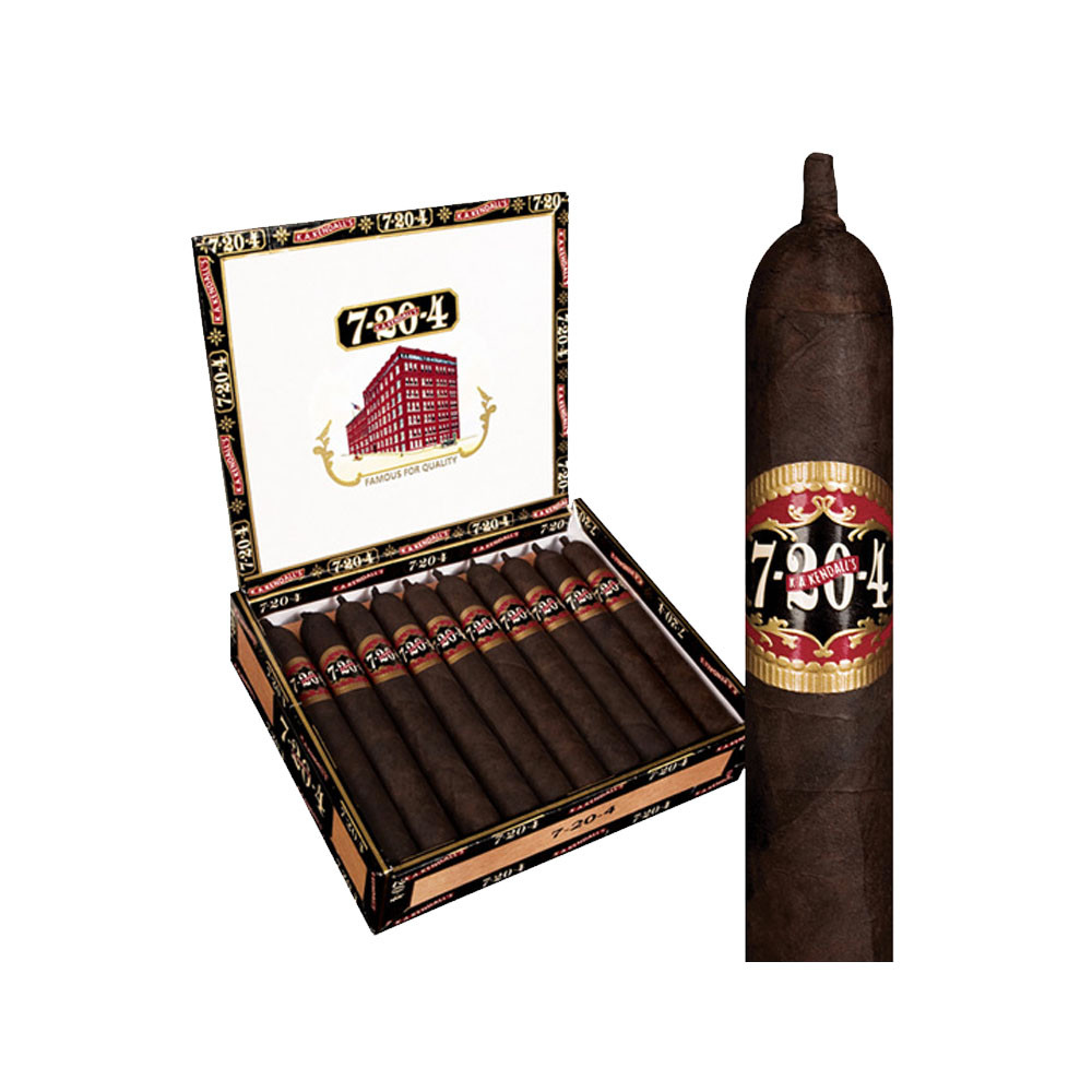 7-20-4 Original Churchill Cigars - Maduro Box of 20