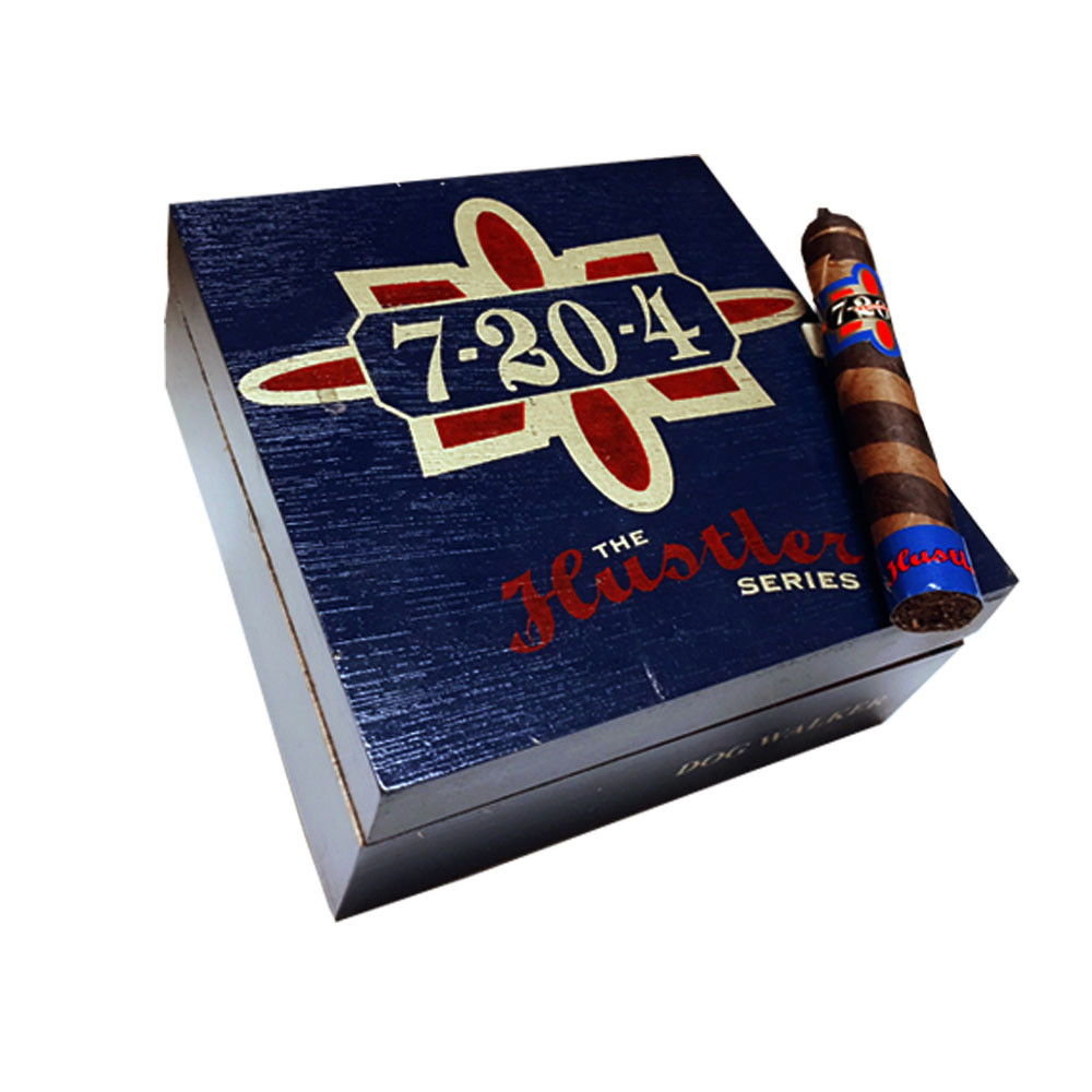 7-20-4 Hustler Series Corona Gorda Cigars - Natural Box of 20