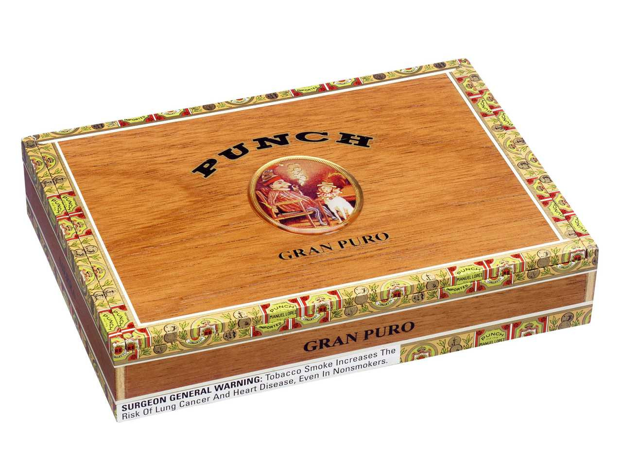Shop Now Punch Gran Puro Sierra Cigars - Natural Box of 25 --> Singles at $7.64, 5 Packs at $32.99, Boxes at $115.99