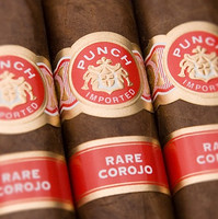 Shop Now Punch Rare Corojo El Diablo Cigars - Natural Box of 20 --> Singles at $10.14, 5 Packs at $43.99, Boxes at $130.99