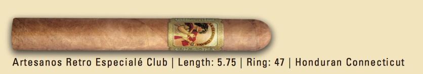 Shop Now La Gloria Cubana Retro Especiale Club Cigars - Natural Box of 25 --> Singles at $7.54, 5 Packs at $32.99, Boxes at $115.99