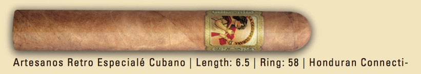 Shop Now La Gloria Cubana Retro Especiale Cubano Cigars - Natural Box of 25 --> Singles at $8.54, 5 Packs at $36.99, Boxes at $126.99