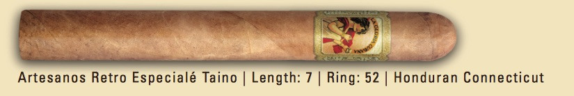 Shop Now La Gloria Cubana Retro Especiale Taino Cigars - Natural Box of 25 --> Singles at $8.04, 5 Packs at $34.99, Boxes at $119.99