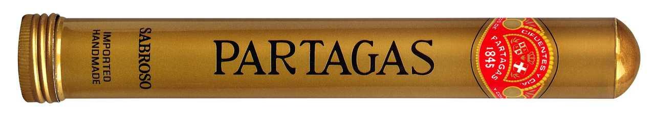Shop Now Partagas Sabroso Aluminum Tube Cigars - Natural Box of 20 --> Singles at $7.04, 5 Packs at $30.99, Boxes at $89.99
