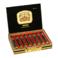 Partagas Black Label Crystal Tubo Cigars - Maduro Box of 8
