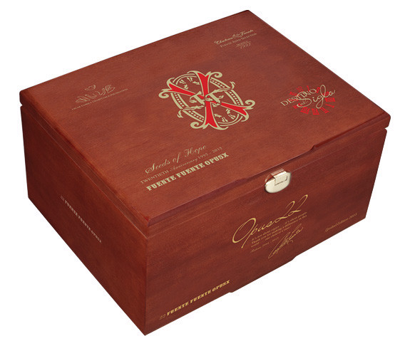 Fuente Fuente Opus 22 Release Cigars - Box of 22 Close Box
