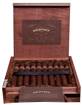 Shop Now Kristoff Ligero Criollo Short Robusto Cigars - Natural Box of 20 --> Singles at $7.35, 5 Packs at $31.99, Boxes at $131.99